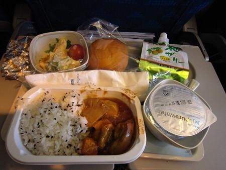 大韓航空のごはん