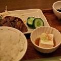 写真: 牛タン定食