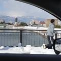 雪道のランニング