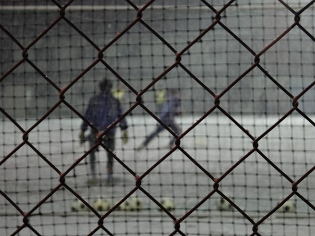 吹雪の夜のゴールキーパー