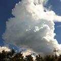 写真: 積乱雲