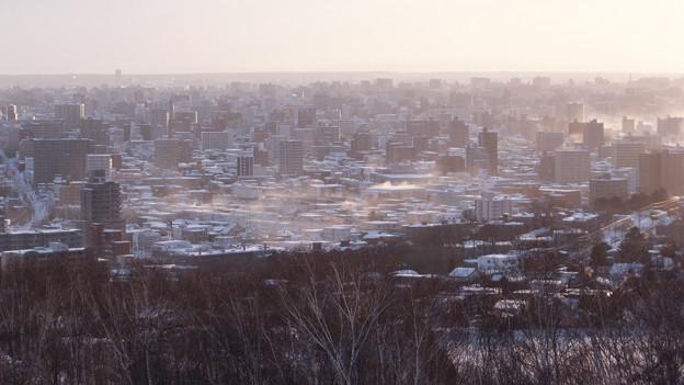 札幌、冬の朝#2