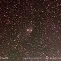 ケフェウス座γ星に接近して見えたパンスターズ彗星