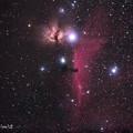 燃える木星雲 馬頭星雲(IMG_5703L)