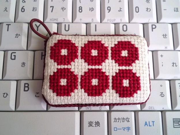 クロスステッチ_六文銭