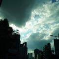 怪しげな雲行き
