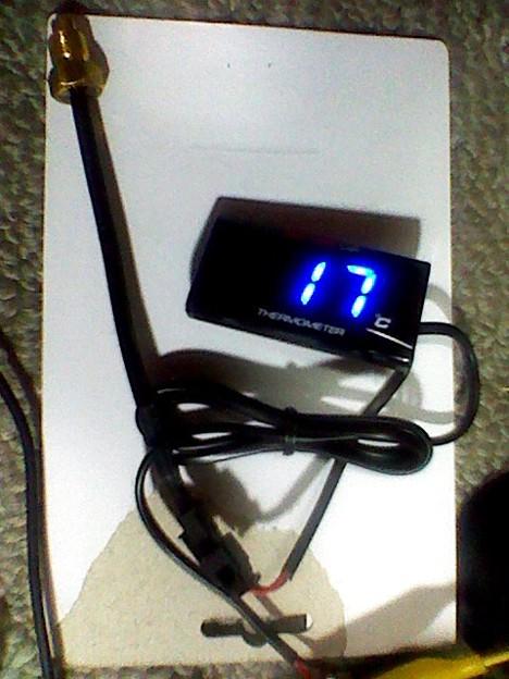 KOSO デジタル水温計