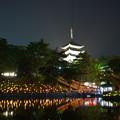 猿沢の池と興福寺