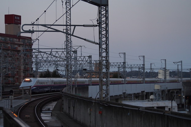 E2系新幹線 仙台駅