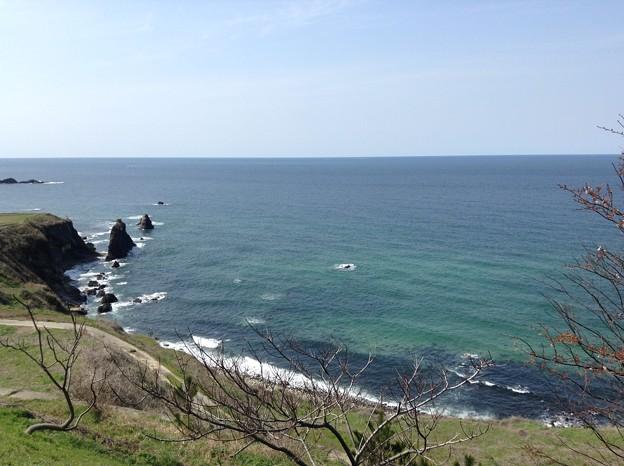1401-屏風岩と丹後の海