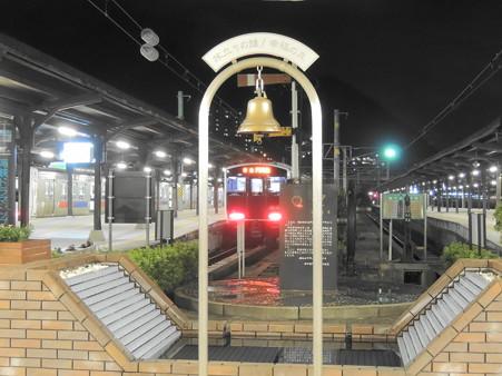 門司港駅:旅立ちの鐘/幸福の泉