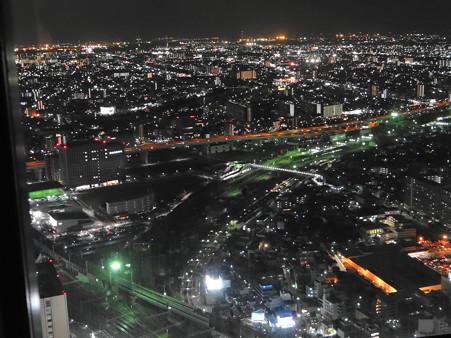 名古屋笹島の夜景