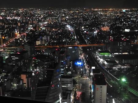 名古屋港方面の夜景