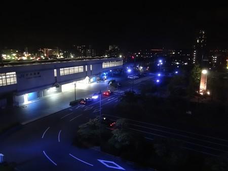 JR四国宇多津駅の夜景