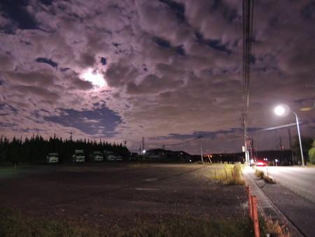満月は雲に隠れて~~