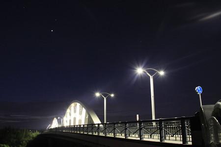 夜明け前の久澄橋