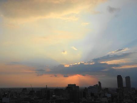 名古屋テレビ塔からの夕景
