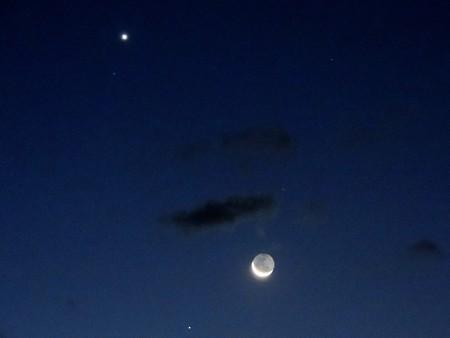 三ヶ月と金星