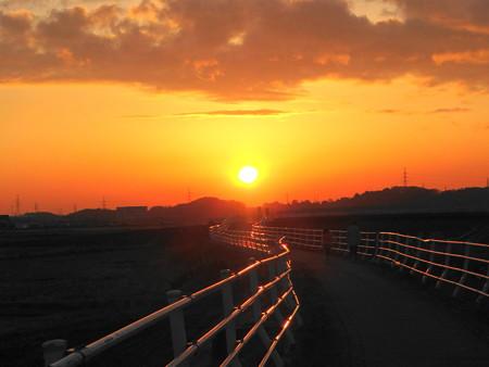 20121203夕陽