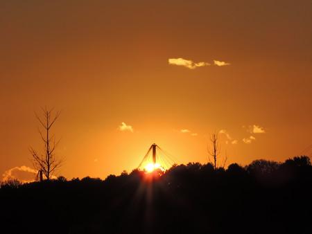 20121204夕陽