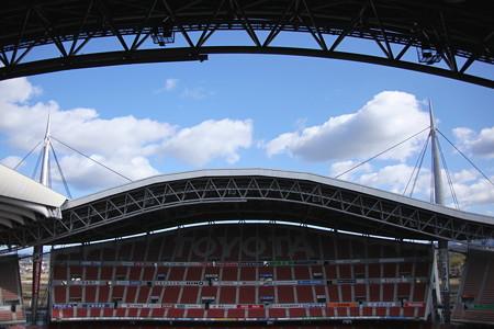 豊田スタジアム4階の視界