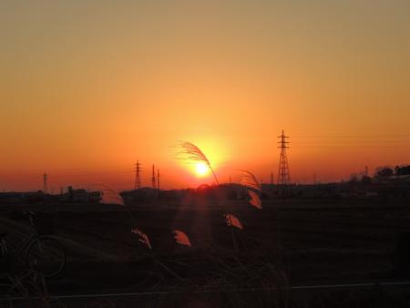 20130107夕陽