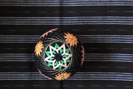 手毬と久留米絣3