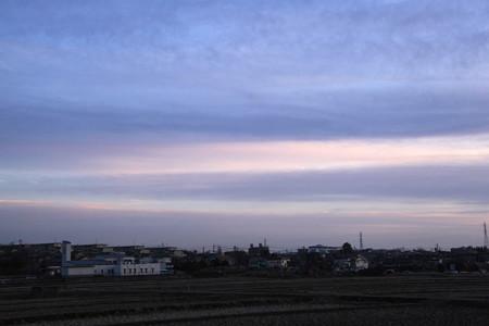 南の夕空は彩り添えて♪~♪