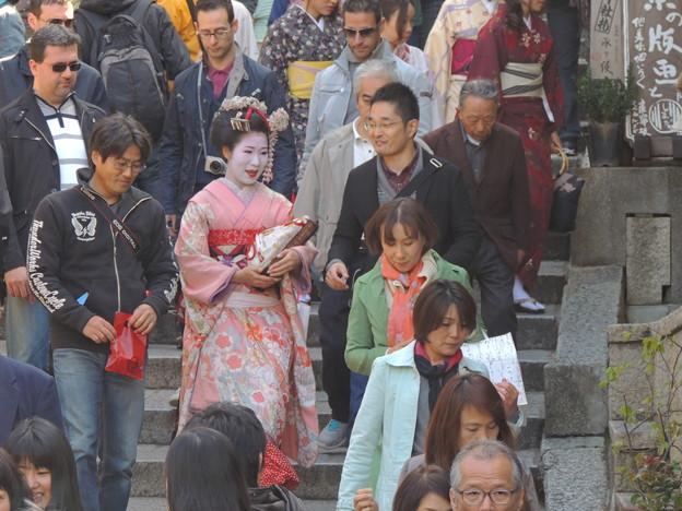 三寧坂の舞妓はん