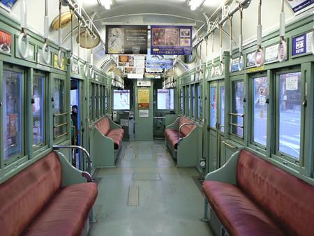 阪堺電気軌道モ161形170号車内