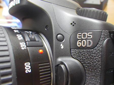 EOS60Dがやってきた(アップ)