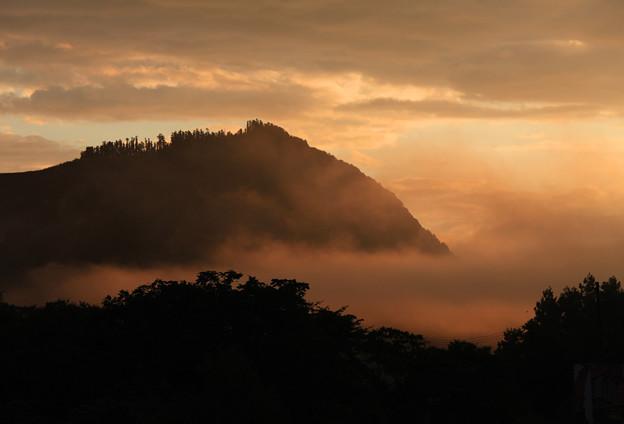 写真: 朝 霧