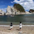 砂浜で遊ぶ楽しさ