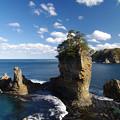 写真: 絶妙な三王岩