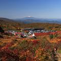 栗駒山の賑わい