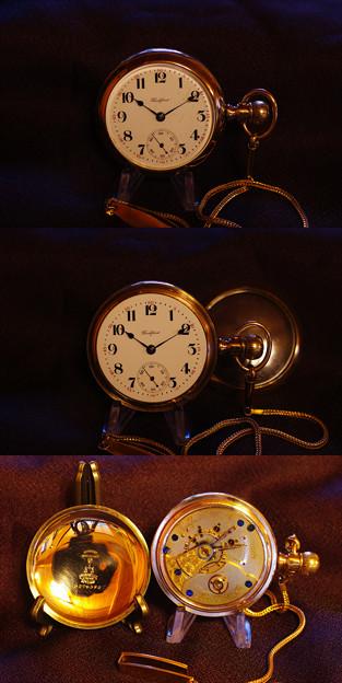 ロックフォード懐中時計