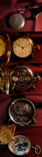 FAVRE-BRANDT商会 ZENITH製懐中時計