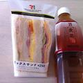 写真: 20120727朝食
