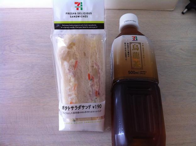 写真: 20120802朝食