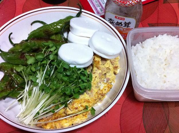 写真: 20120802夕食