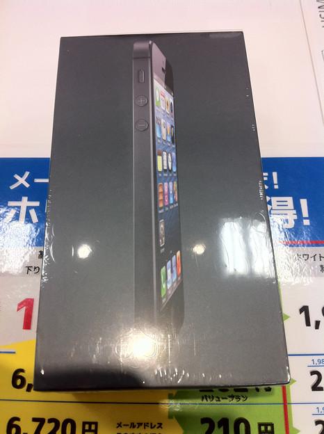 写真: iPhone5
