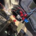 写真: キーレス連動ミラー格納装置取付