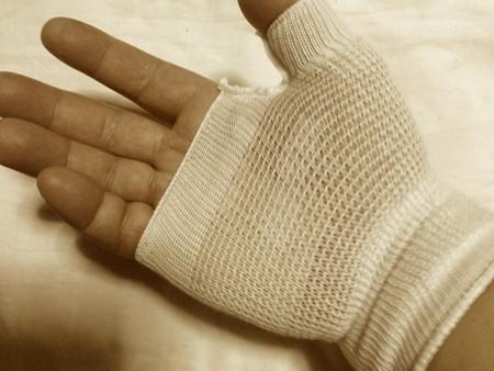 小指の腱鞘炎