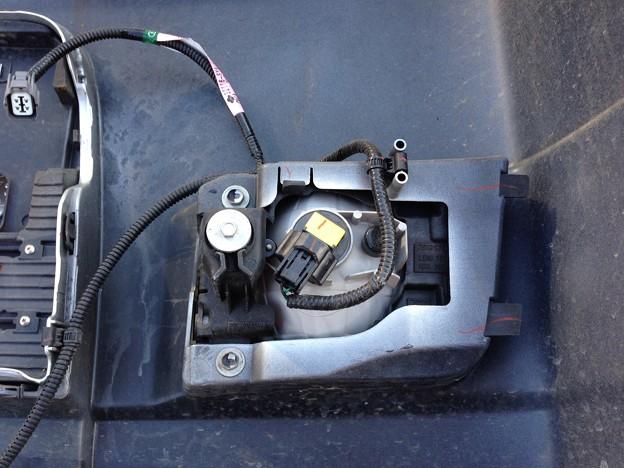 写真: フォグ運転席側