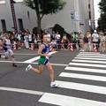 写真: 北海道マラソン女子2位 赤羽さん
