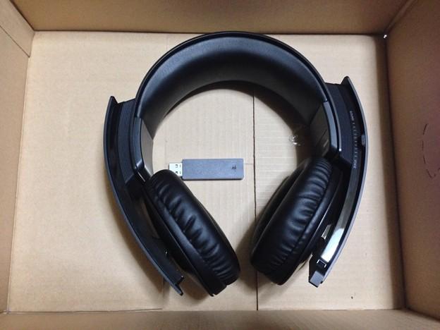 写真: PS3 wireless stereo headset