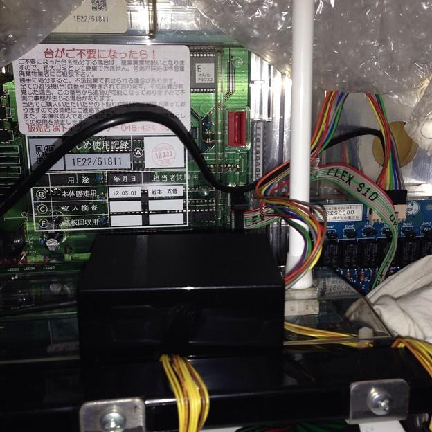 写真: PCデータカウンター用ケーブル