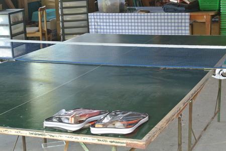 福原農園の卓球台