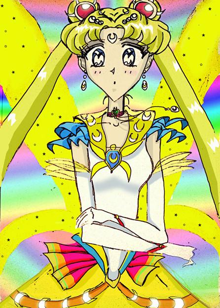 Selenit Saturn (Sailor Moon)- season 1