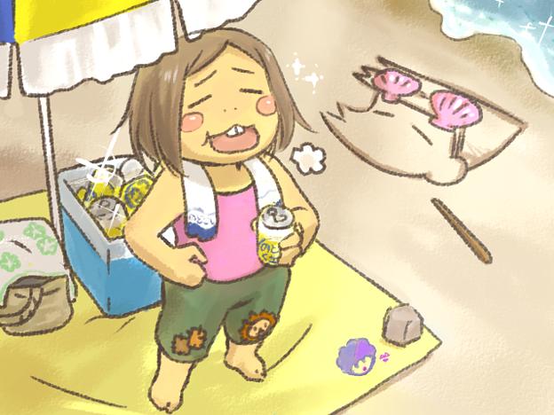 四季鶴瓶~夏~なかさん